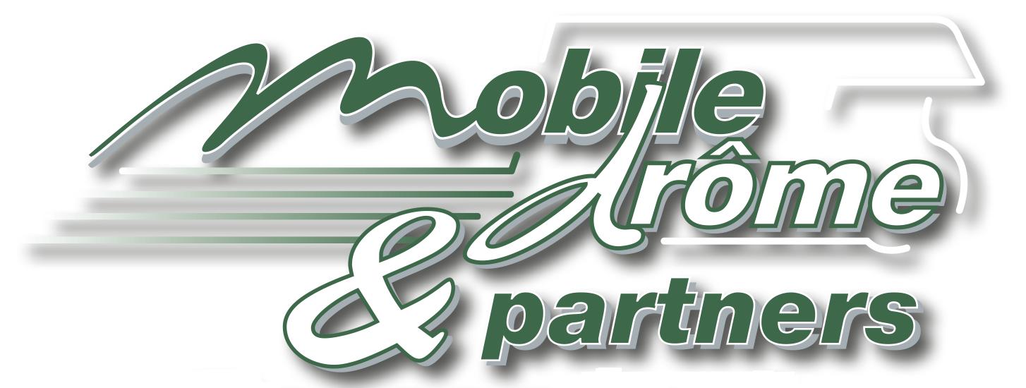 Logo Mobiledrôme, logo Mobiledrôme & Partners, Mobiledrôme, Mobiledrôme & Partners