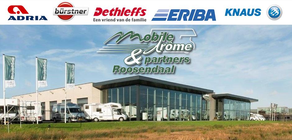 Mobiledrôme & Partners, campers, camper kopen Roosendaal, kampeerauto