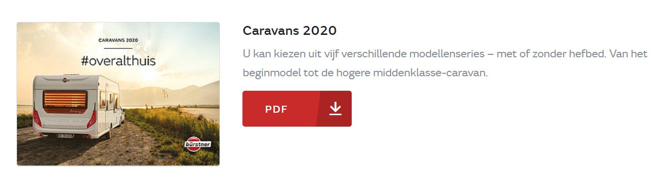Bürstner brochure 2020