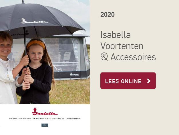 Isabella, Voortenten, voortent, luifel, opblaasbare voortent, tent