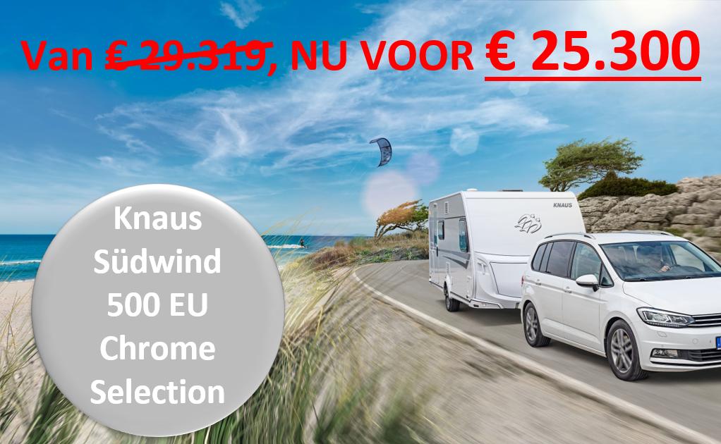 Knaus Sudwind Chrome Selection