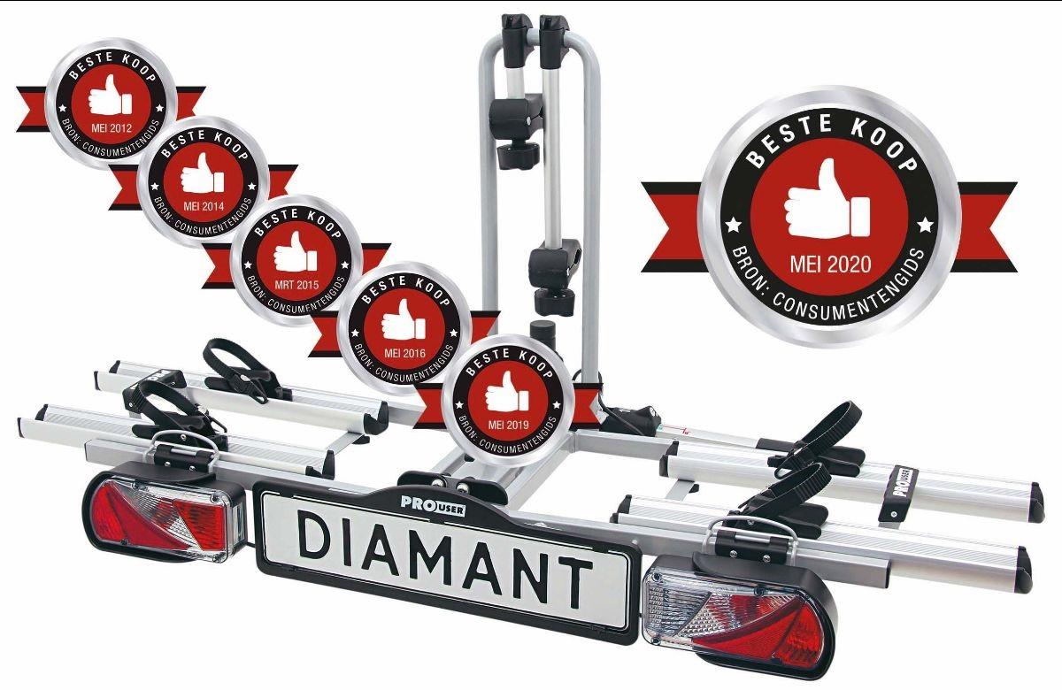 Pro-User Diamant, Pro-User, Diamant, Fietsendrager, Fietsenrek