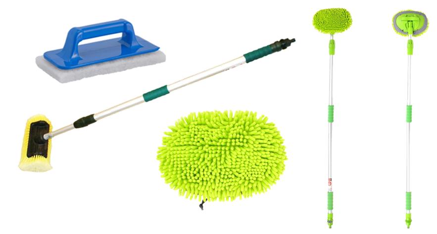 schoonmaakgerei, 123 Products, Haba, schoonmaken, caravan wassen, caravan schoonmaken, caravan reinigen, De Vossenhoek